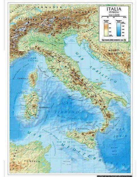 Le carte geografiche murali dell 39 italia hi real blog for Tipi di case in italia